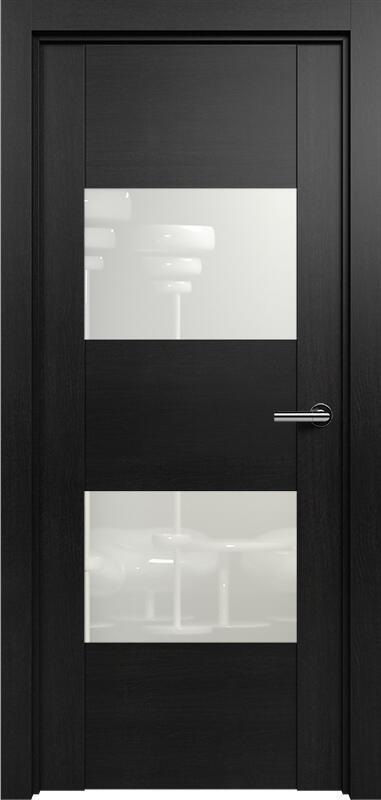 Коллекция Versia 221 Дуб черный + Лакобель белое