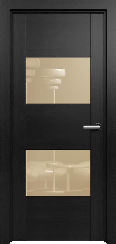 Коллекция Versia 221 Дуб черный + Лакобель бежевое