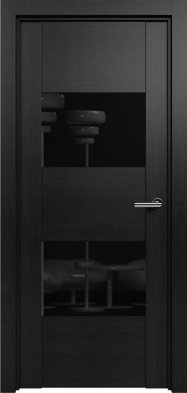 Коллекция Versia 221 Дуб черный + Лакобель черное