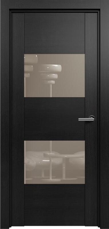 Коллекция Versia 221 Дуб черный + Лакобель каппучино