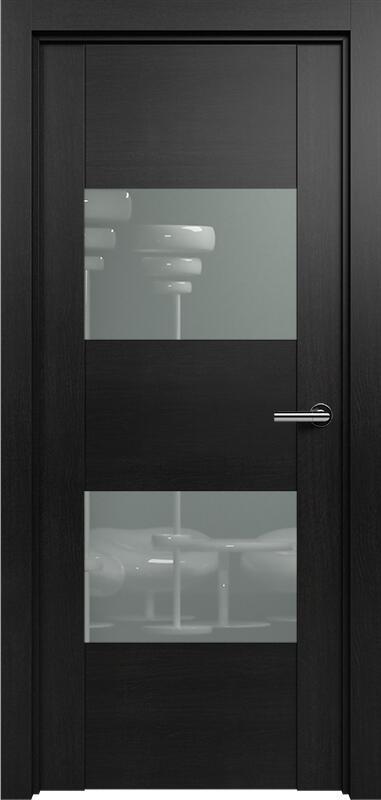 Коллекция Versia 221 Дуб черный + Лакобель серое