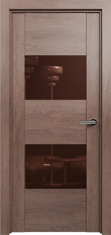 Коллекция Versia 221 Дуб капучино + Лакобель коричневое