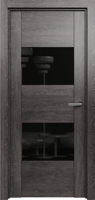 Коллекция Versia 221 Дуб патина + Лакобель черное