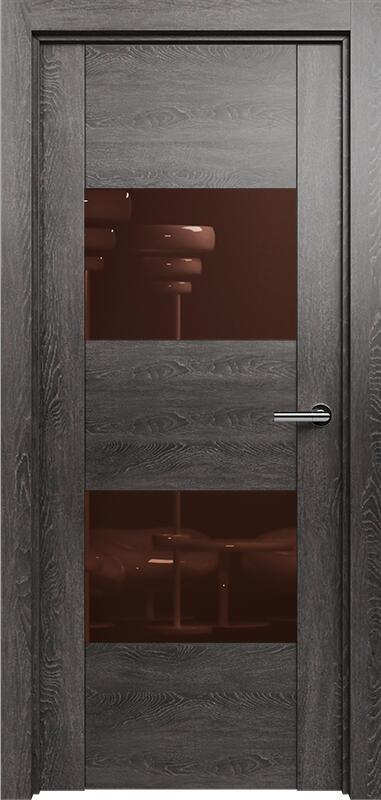 Коллекция Versia 221 Дуб патина + Лакобель коричневое