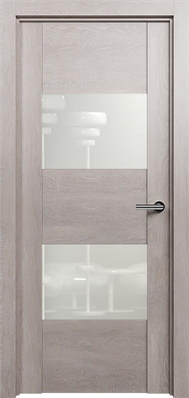 Коллекция Versia 221 Дуб   серый + Лакобель белое