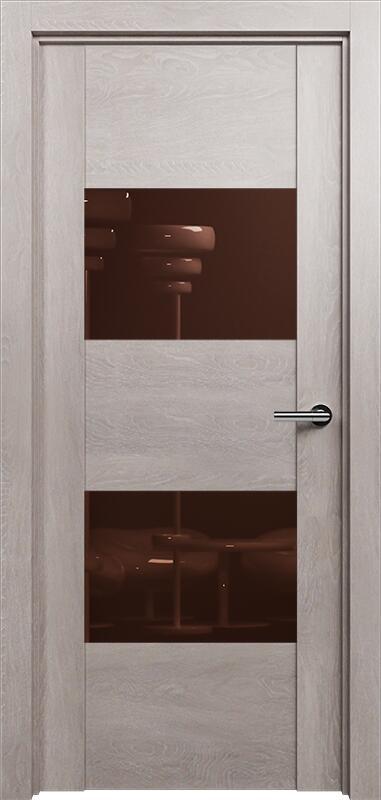 Коллекция Versia 221 Дуб   серый + Лакобель коричневое
