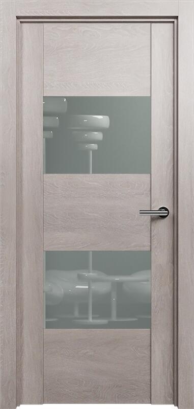 Коллекция Versia 221 Дуб   серый + Лакобель серое