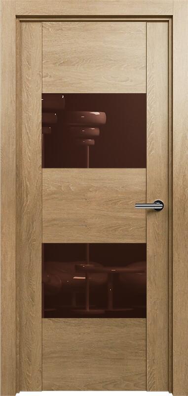 Коллекция Versia 221 Дуб светлый + Лакобель коричневое