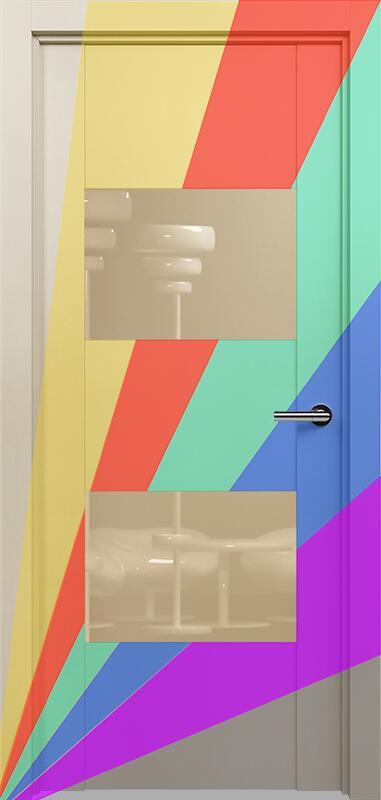 Коллекция Versia 221 Эмаль. Стандарт - RAL 7004,7015,1015,1019,9003.  Нестандарт - любой цвет по RAL. + Лакобель бежевое