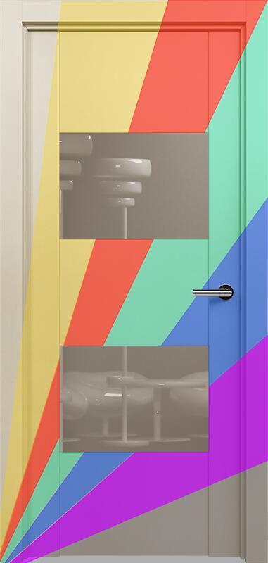 Коллекция Versia 221 Эмаль. Стандарт - RAL 7004,7015,1015,1019,9003.  Нестандарт - любой цвет по RAL. + Лакобель каппучино