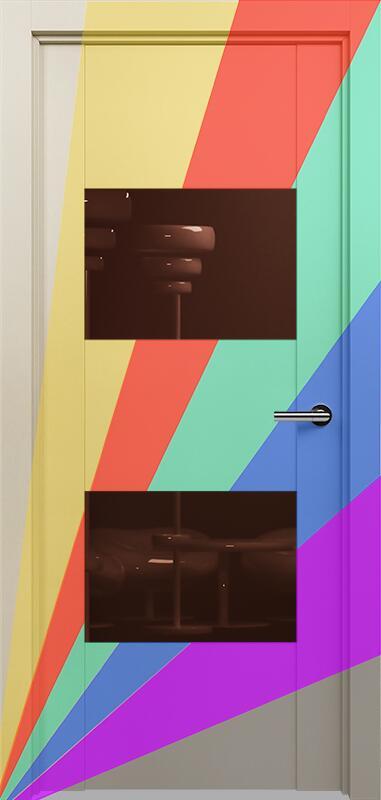 Коллекция Versia 221 Эмаль. Стандарт - RAL 7004,7015,1015,1019,9003.  Нестандарт - любой цвет по RAL. + Лакобель коричневое