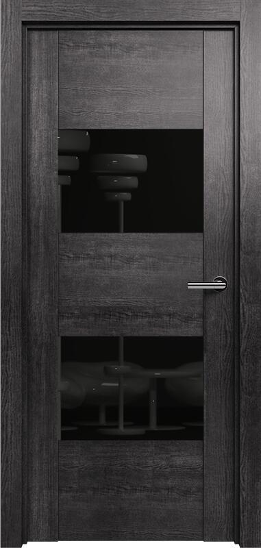 Коллекция Versia 221 Венге пепельный + Лакобель черное