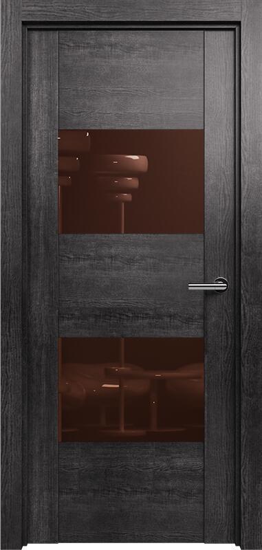 Коллекция Versia 221 Венге пепельный + Лакобель коричневое