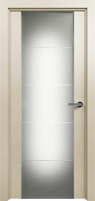 Коллекция Versia 222 Слоновая кость + Триплекс 8 мм с горизонтальной гравировкой