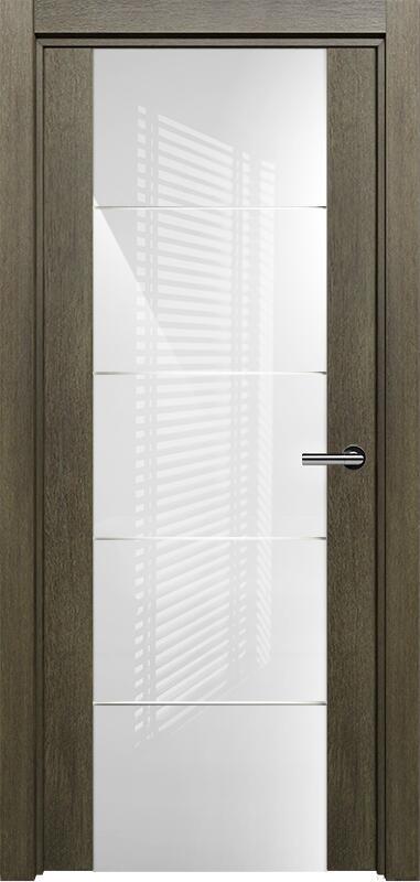 Коллекция Versia 222 Винтаж + Триплекс 8мм белый с горизонтальной гравировкой