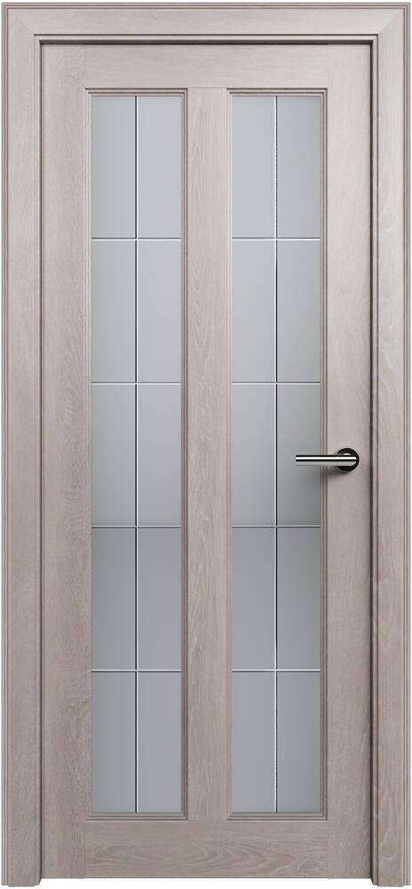 Коллекция Fusion 612 Дуб   серый + Алмазная гравировка английская решетка