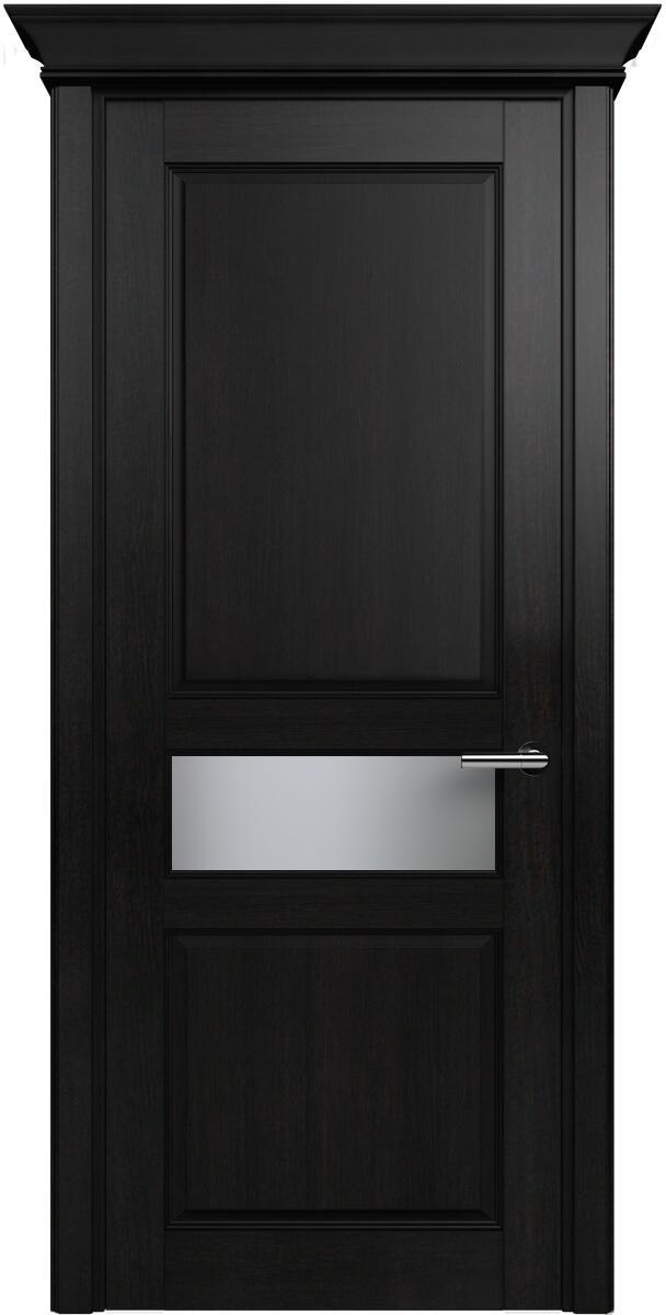 Коллекция Classic 534 Дуб черный + Сатинато белое матовое