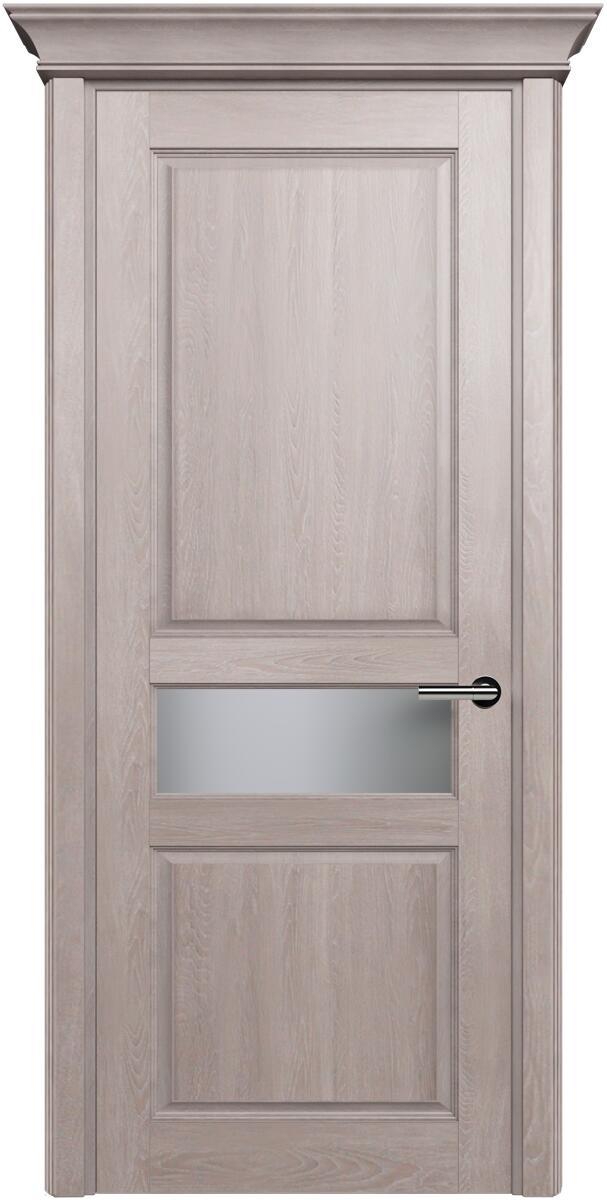 Коллекция Classic 534 Дуб   серый + Сатинато белое матовое