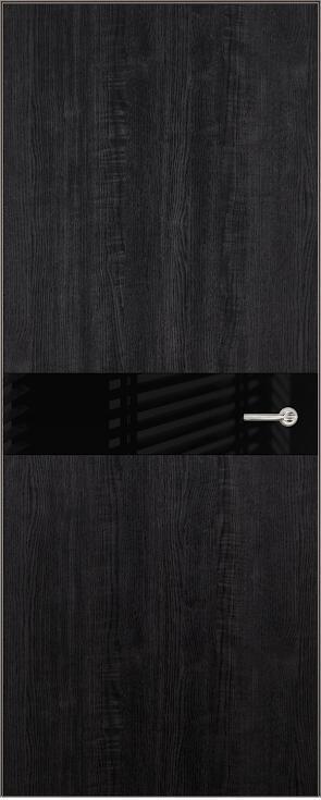 Коллекция Favorite 702 Дуб черный + Лакобель черное