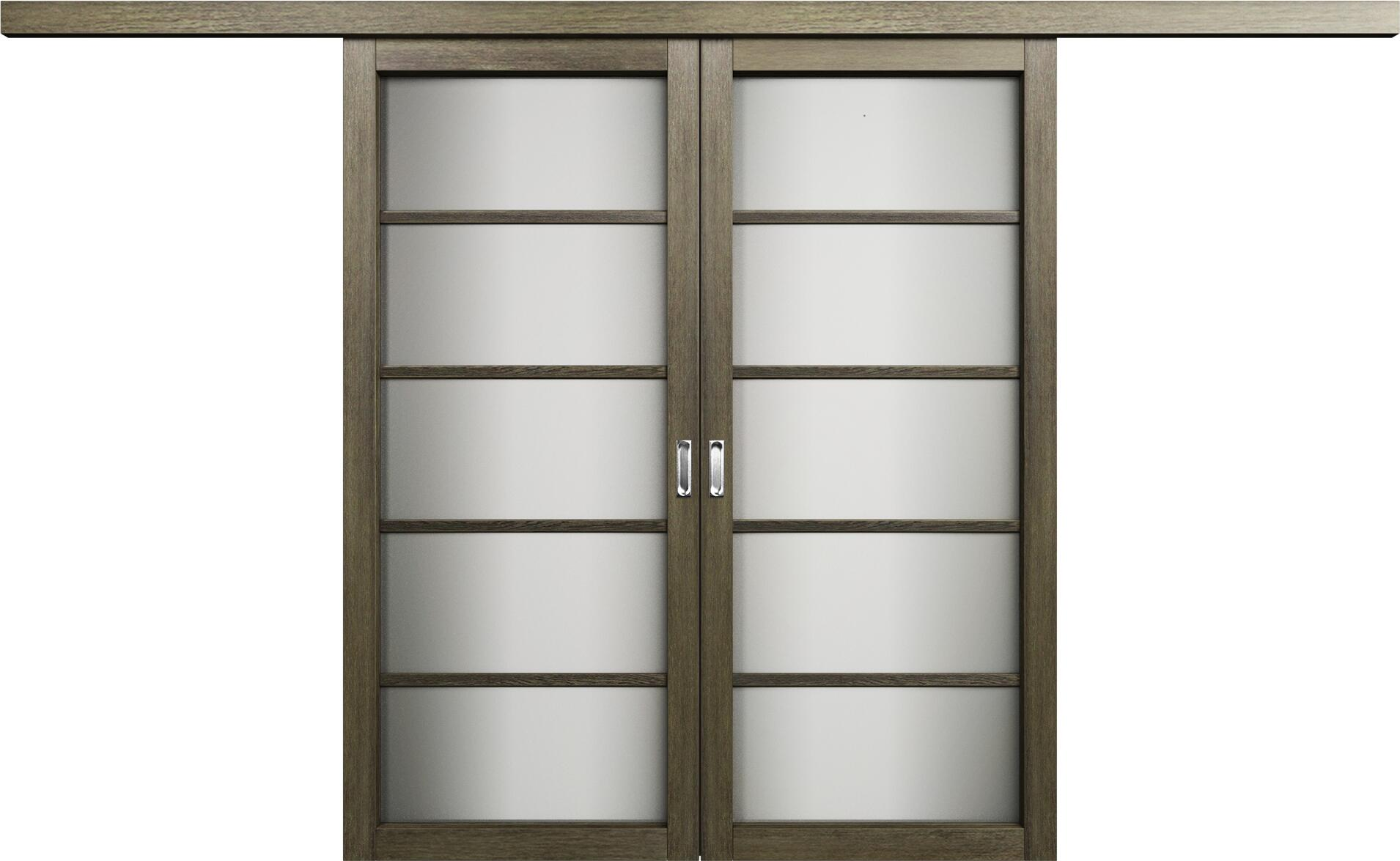 Коллекция Перегородки Перегородка со стеклом. Тип 1 Винтаж + Сатинато белое