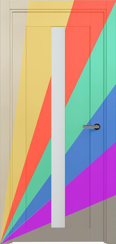 Коллекция Optima 134 Эмаль. Стандарт - RAL 7004,7015,1015,1019,9003.  Нестандарт - любой цвет по RAL. + Сатинато белое