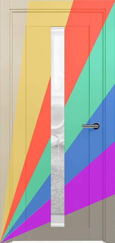 Коллекция Optima 134 Эмаль. Стандарт - RAL 7004,7015,1015,1019,9003.  Нестандарт - любой цвет по RAL. + сатинато прозрачное