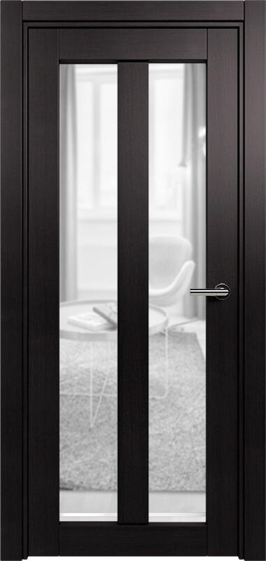 Коллекция Optima 135 Дуб черный + сатинато прозрачное