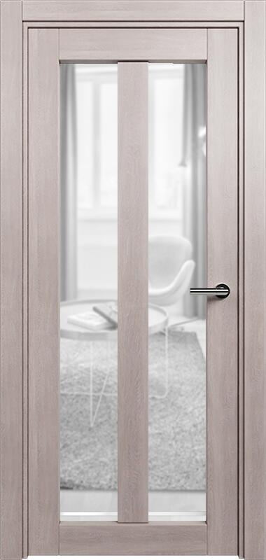 Коллекция Optima 135 Дуб   серый + сатинато прозрачное