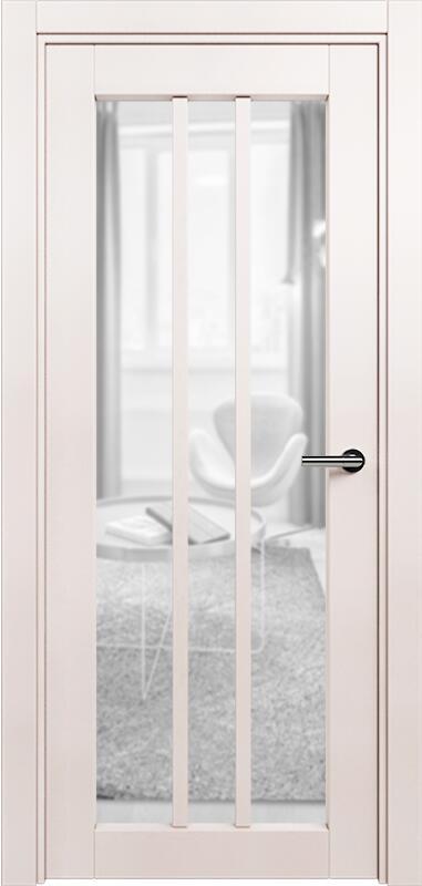Коллекция Optima 136 Белый жемчуг + сатинато прозрачное