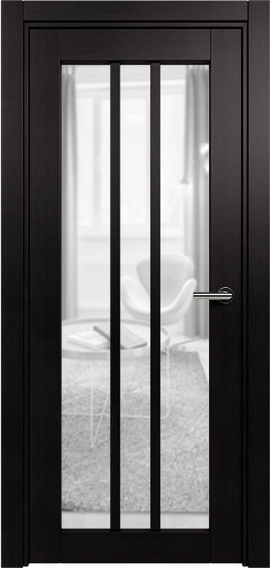 Коллекция Optima 136 Дуб черный + сатинато прозрачное