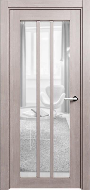 Коллекция Optima 136 Дуб   серый + сатинато прозрачное