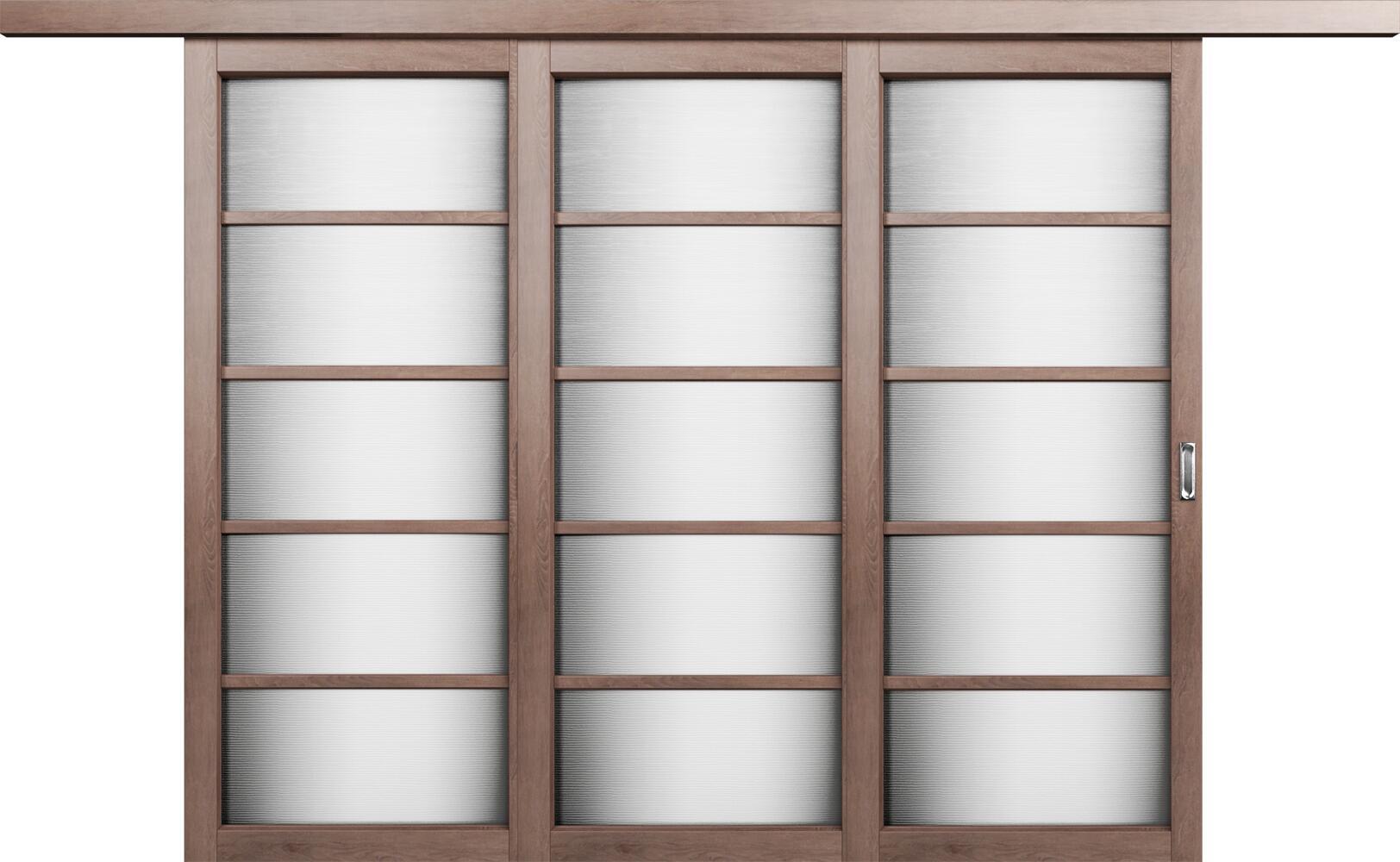Коллекция Перегородки Веерная перегородка. Тип 1 Дуб капучино + Канны