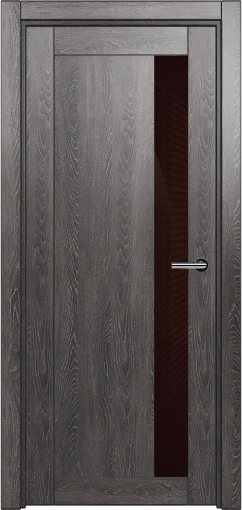 Коллекция Estetica 821 Дуб патина + глосс коричневое