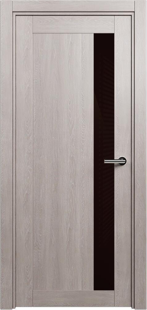 Коллекция Estetica 821 Дуб   серый + глосс коричневое