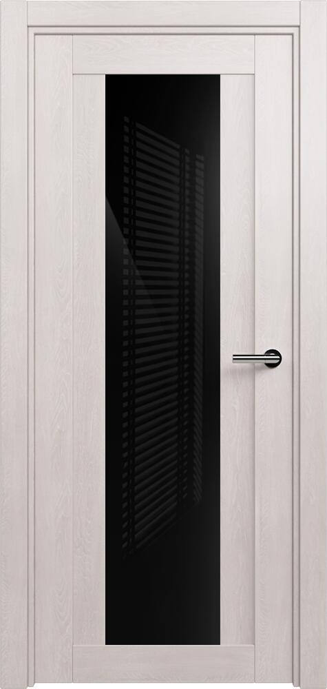 Коллекция Estetica 823 Дуб белый + глосс черное