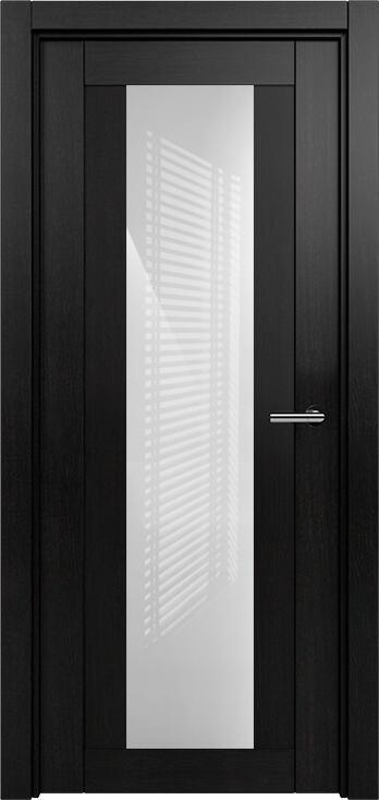 Коллекция Estetica 823 Дуб черный + глосс белое