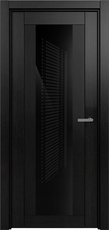 Коллекция Estetica 823 Дуб черный + глосс черное