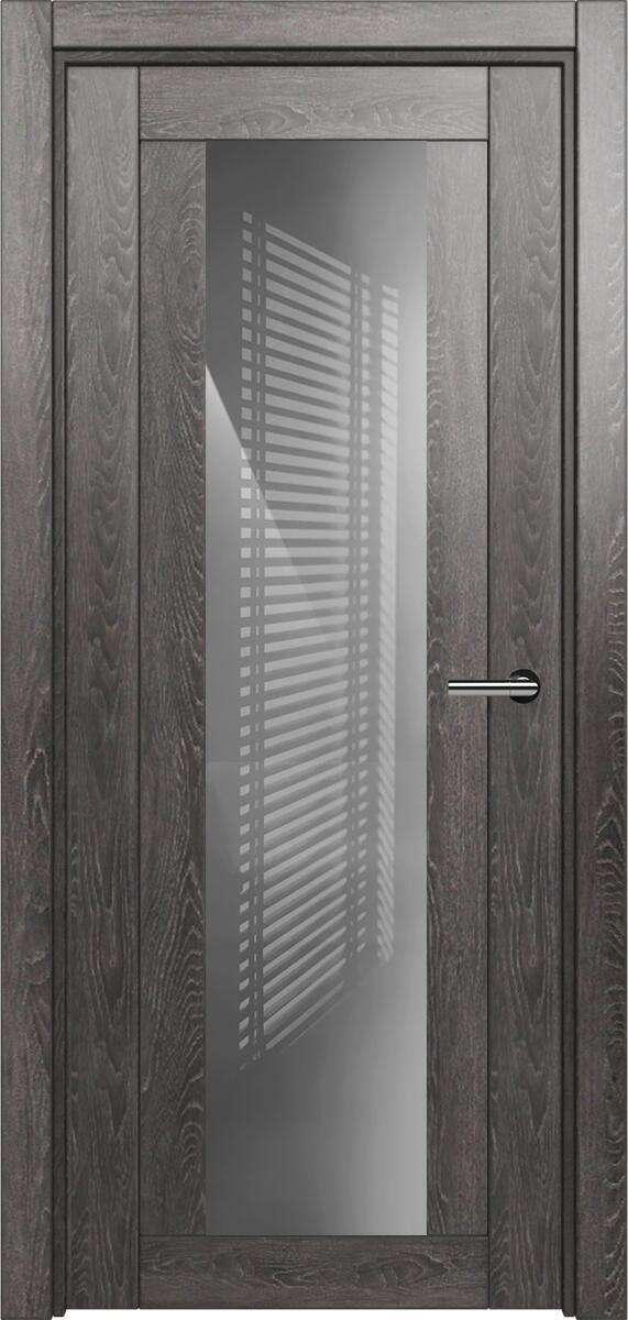 Коллекция Estetica 823 Дуб патина + глосс серое