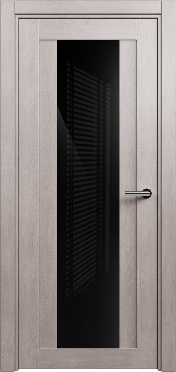 Коллекция Estetica 823 Дуб   серый + глосс черное