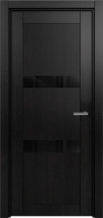 Коллекция Estetica 832 Дуб черный + глосс черное