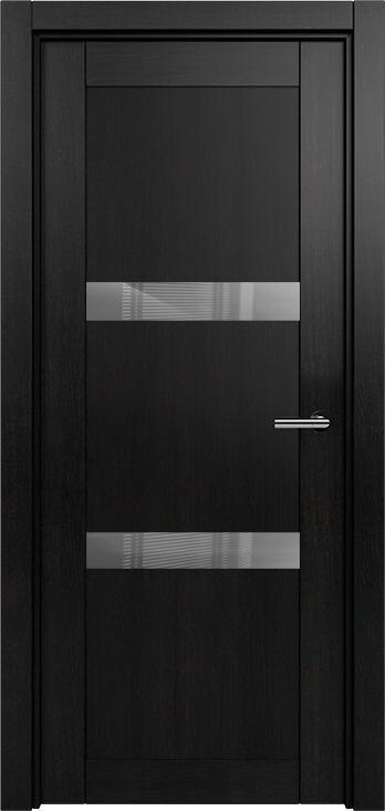Коллекция Estetica 832 Дуб черный + глосс серое