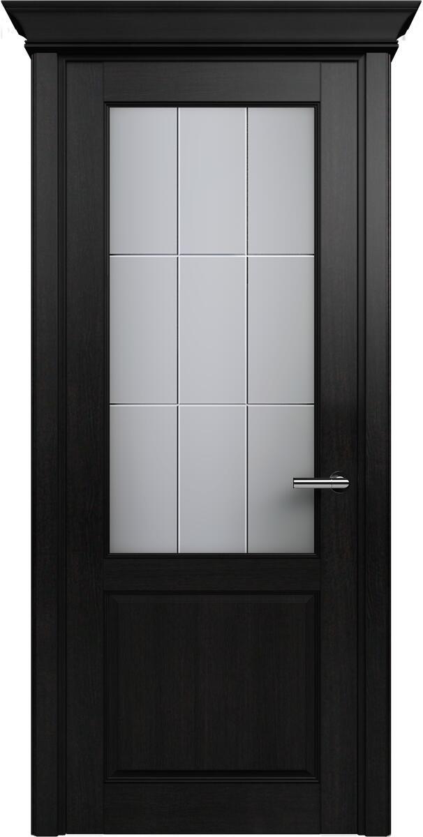 Коллекция Classic 521 Дуб черный + Алмазная гравировка английская решетка