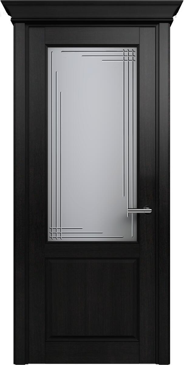 Коллекция Classic 521 Дуб черный + Алмазная гравировка Грань