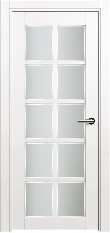 Коллекция Optima 123 Белый   лёд + Сатинато белое фацет