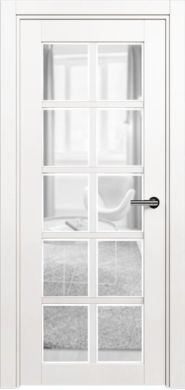 Коллекция Optima 123 Белый   лёд + сатинато прозрачное фацет