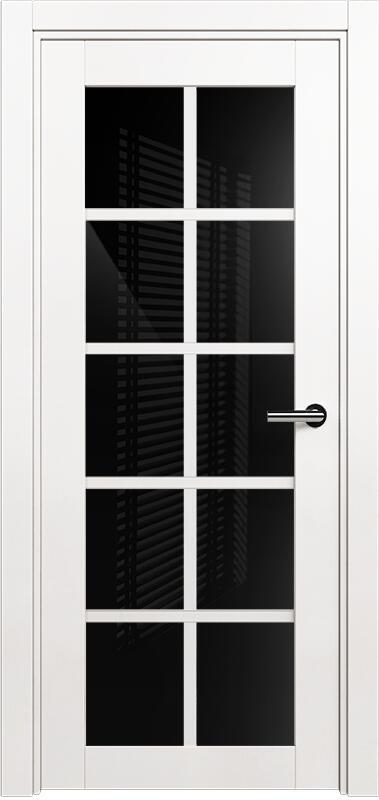 Коллекция Optima 123 Белый   лёд + триплекс черное