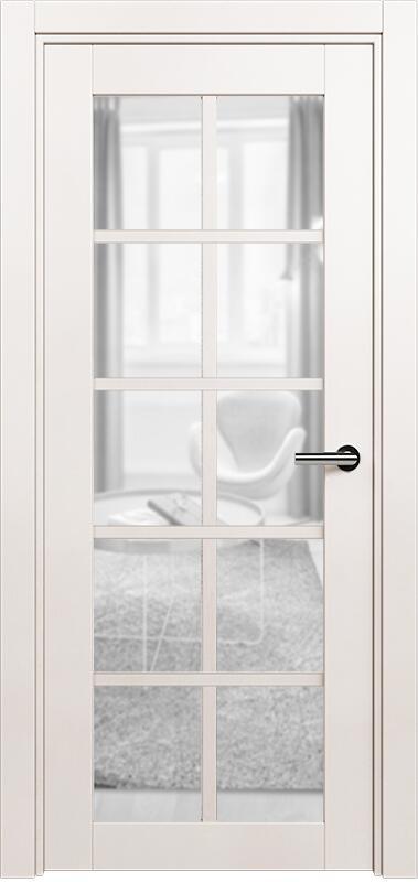 Коллекция Optima 123 Белый жемчуг + сатинато прозрачное