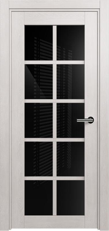 Коллекция Optima 123 Дуб белый + триплекс черное