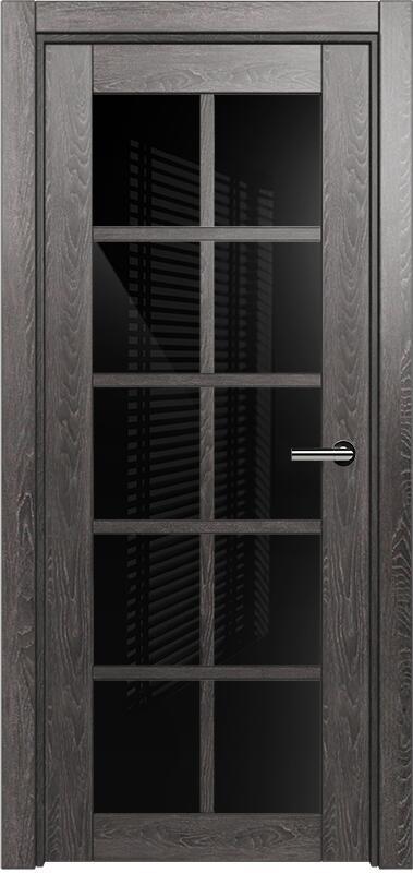 Коллекция Optima 123 Дуб патина + триплекс черное