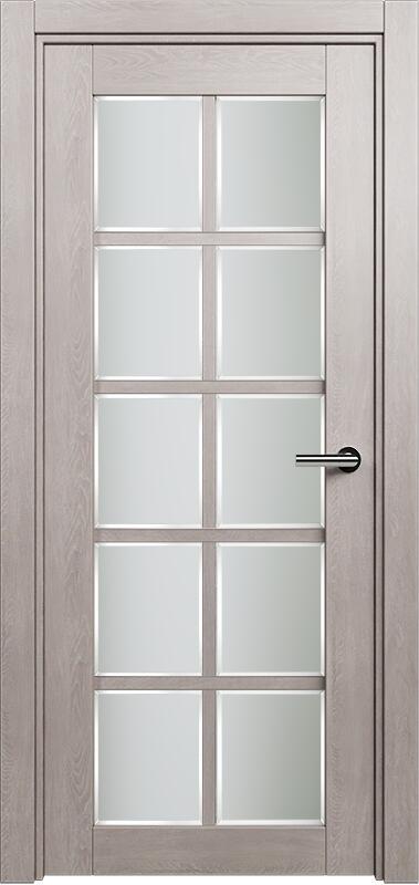 Коллекция Optima 123 Дуб   серый + Сатинато белое фацет